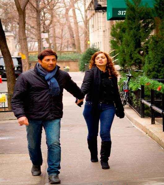I Love NY Sunny Deol Kangna Ranaut Romantic Scene Stills