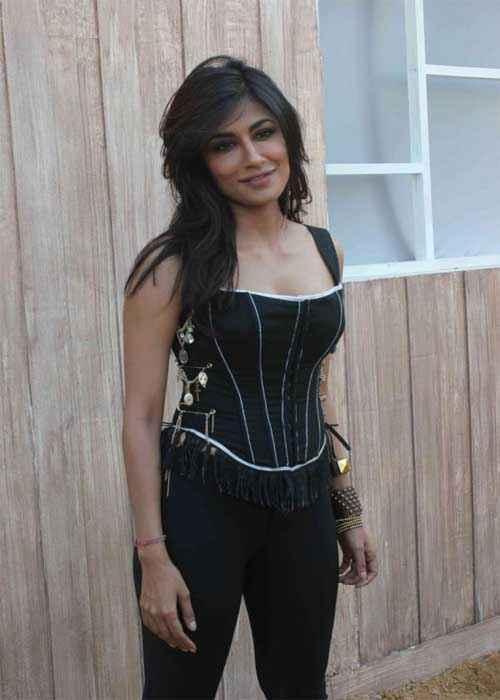 I Me Aur Main Chitrangada Singh in Black Dress Stills