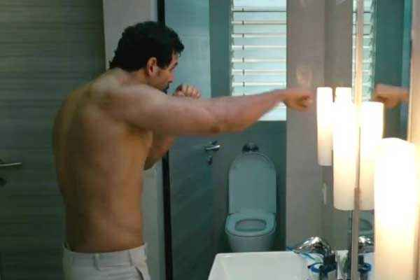 I Me Aur Main John Abraham in Towel Stills