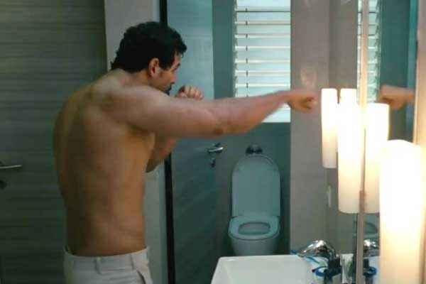 I Me Aur Main John Abraham in Towel Stills