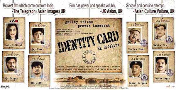 Identity Card Image Poster