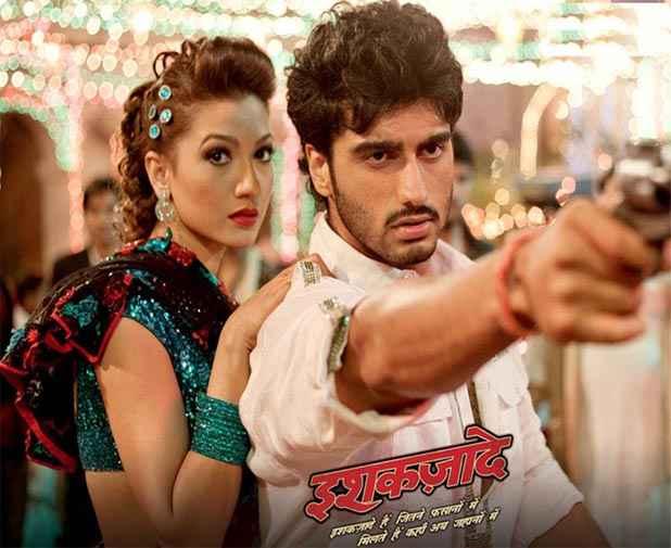 Ishaqzaade Arjun Kapoor And Gauhar Khan Stills