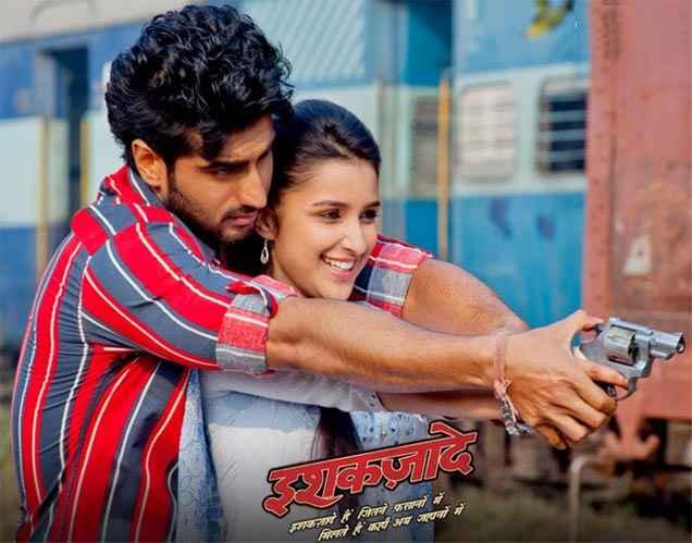 Ishaqzaade Arjun Kapoor And Parineeti Chopra In Romance Stills