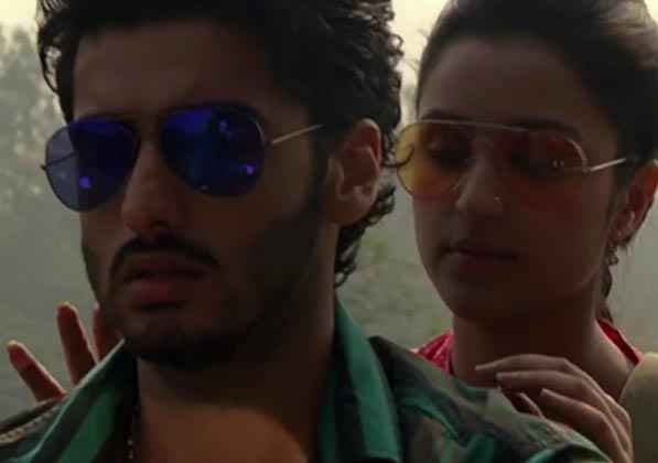 Ishaqzaade Arjun Kapoor And Parineeti Chopra On Bike Stills