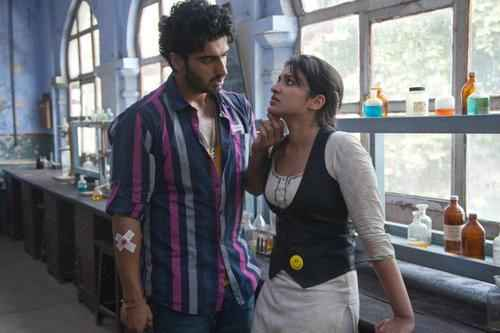 Ishaqzaade Arjun Kapoor And Parineeti Chopra Scene Stills