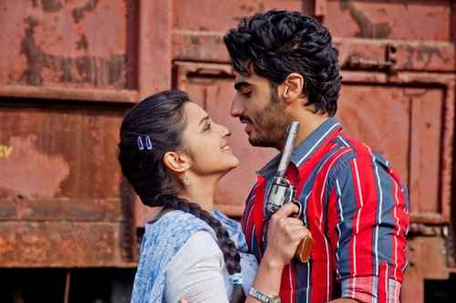 Ishaqzaade Arjun Kapoor And Parineeti Chopra Stills