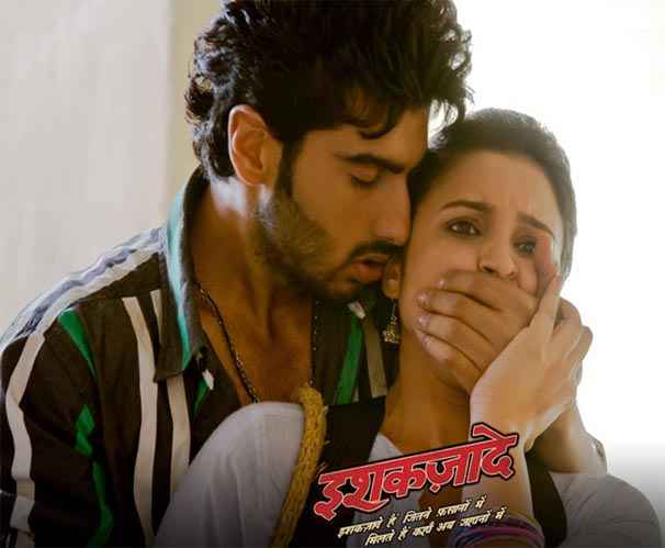 Ishaqzaade Arjun Kapoor Parineeti Chopra Hot Photos Stills