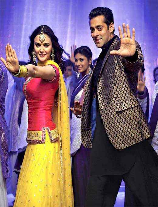 Ishkq In Paris Preity Salman in Dance Stills