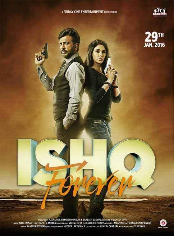 Ishq Forever Jaaved Jaaferi Lisa Ray Poster
