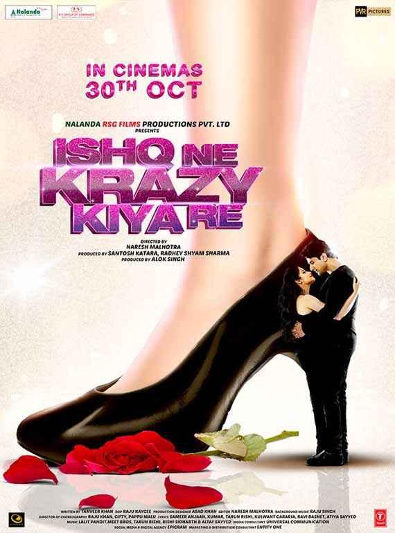 Ishq Ne Krezzy Kiya Re First Look Poster