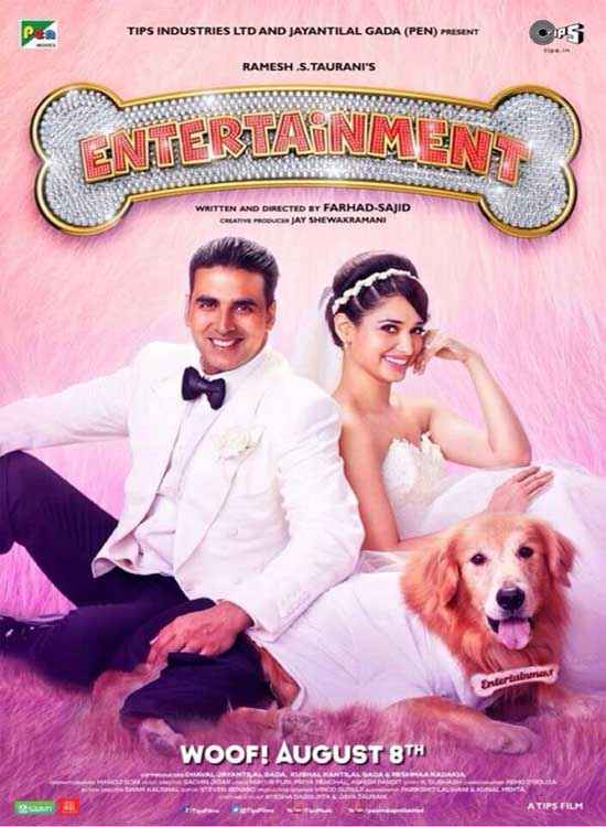 Its Entertainment Akshay Kumar Tamannaah Bhatia Poster