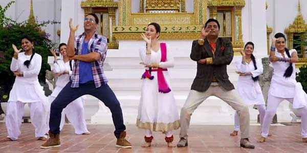 Its Entertainment Akshay Kumar Prakash Raj Dance Stills