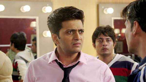 Its Entertainment Riteish Deshmukh Acting Stills