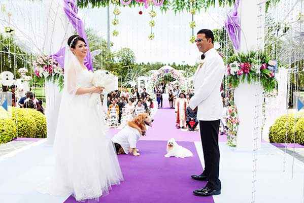 Its Entertainment Tamannaah Bhatia Akshay Kumar Marriage Scene Stills