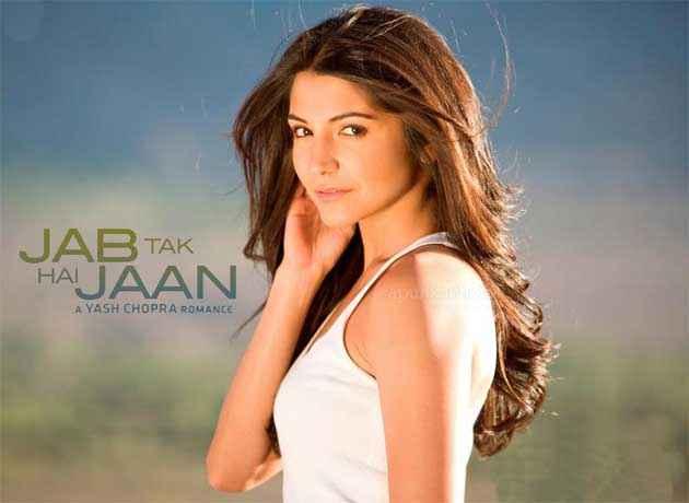 Jab Tak Hai Jaan Anuska Sharma Poster
