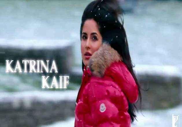 Jab Tak Hai Jaan Katrina Kaif Poster
