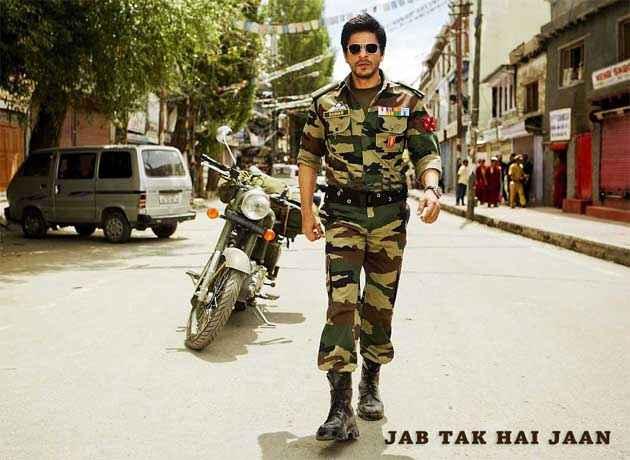 Jab Tak Hai Jaan Shahrukh Khan Poster