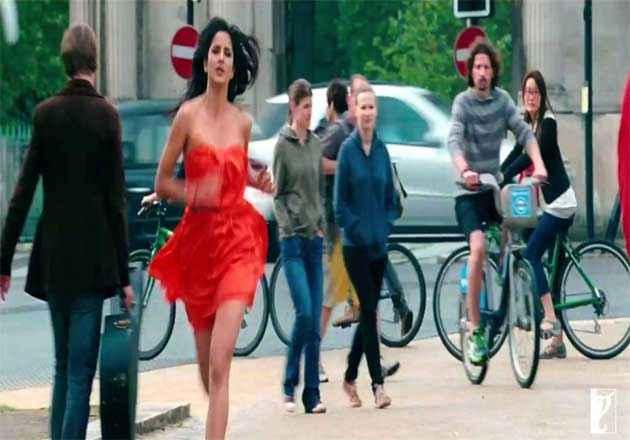 Jab Tak Hai Jaan Katrina Kaif Hot Stills