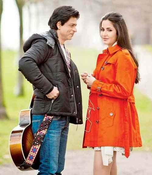 Jab Tak Hai Jaan Shahrukh Khan Katrina Kaif Romantic Scene Stills