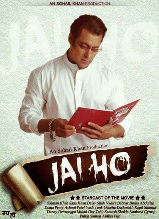 Jai Ho First Look Poster
