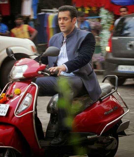 Jai Ho Salman Khan On Activa Stills