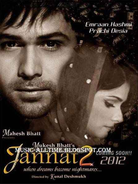 Jannat 2 Emraan Hashmi Prachi Desai Poster