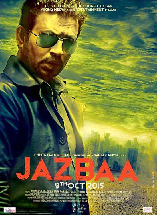Jazbaa Irfan Khan Poster