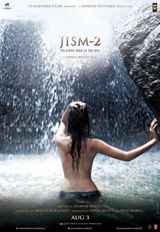 Jism 2 Sunny Leone Hot Poster