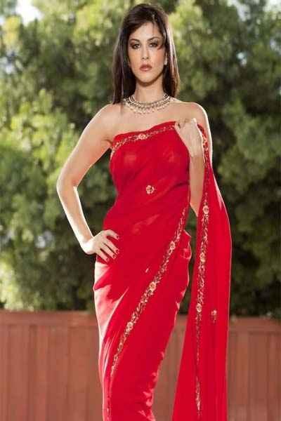 Jism 2 Hot Sunny Leone In Sari Stills