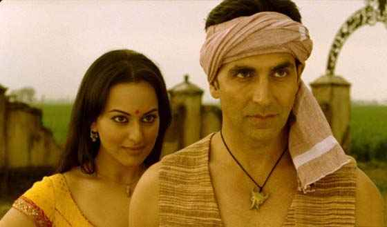 Joker Akshay Kumar And Sonakshi Sinha Romantic Scene Stills