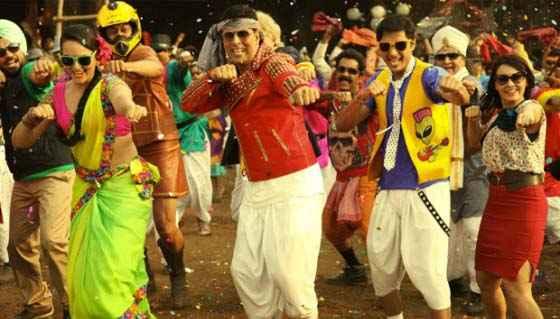 Joker Akshay Sonakshi Shreyas Talpade And Minissha Lamba In Dance Stills