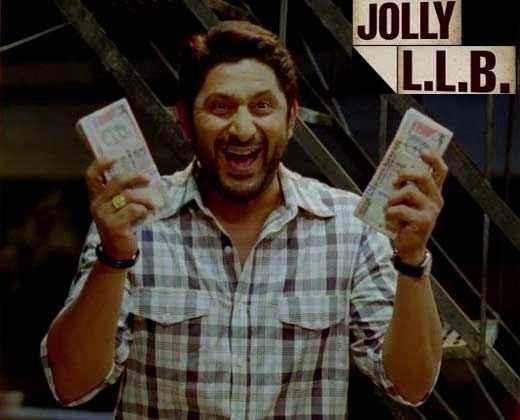 Jolly LLB Arshad Warsi Poster