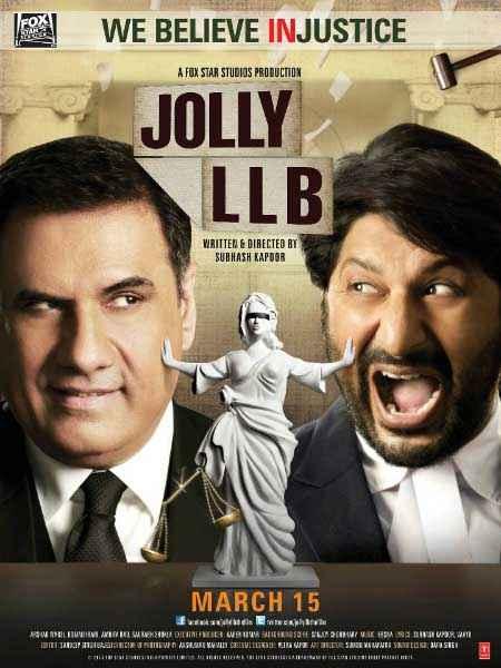 Jolly LLB Boman Irani Arshad Warsi Poster