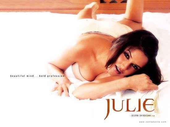 Julie (2004) Neha Dhupia Hot Wallpaper Poster