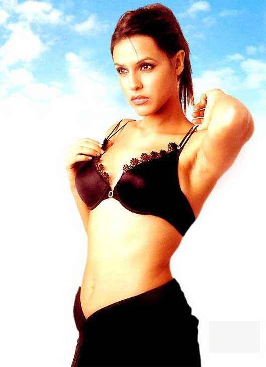 Julie (2004) Neha Dhupia Bikini Stills