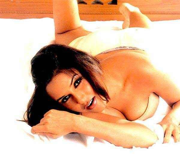 Julie (2004) Neha Dhupia Boobs Stills