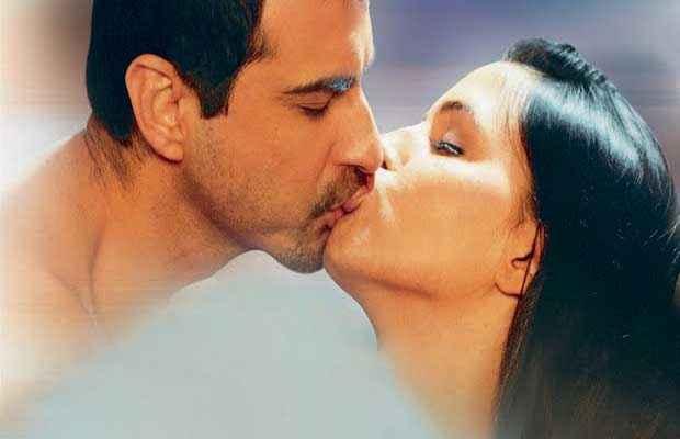 Julie (2004) Sanjay Kapoor Neha Dhupia Kiss Scene Stills