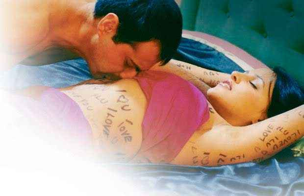 Julie (2004) Sanjay Kapoor Neha Dhupia Kissing Scene Stills