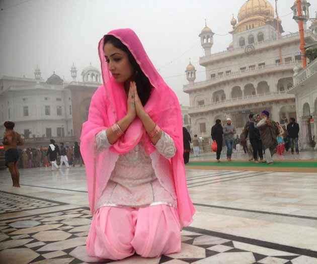Junooniyat Yami Gautam In Pink Suit Stills