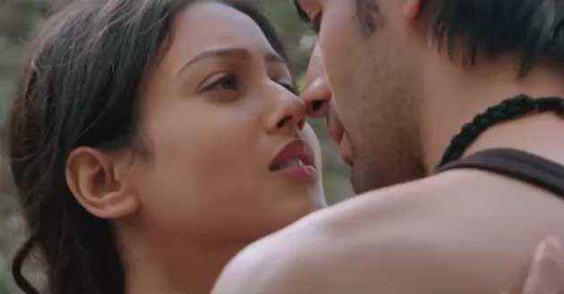Kaanchi Mishti Trying To Kiss Kartik Tiwari Stills