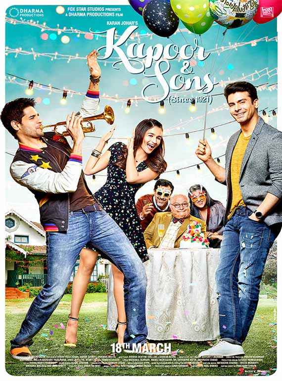 Kapoor & Sons First Look Poster