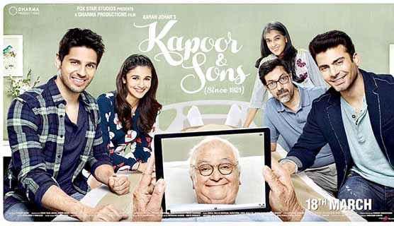 Kapoor & Sons Wallpaper Poster