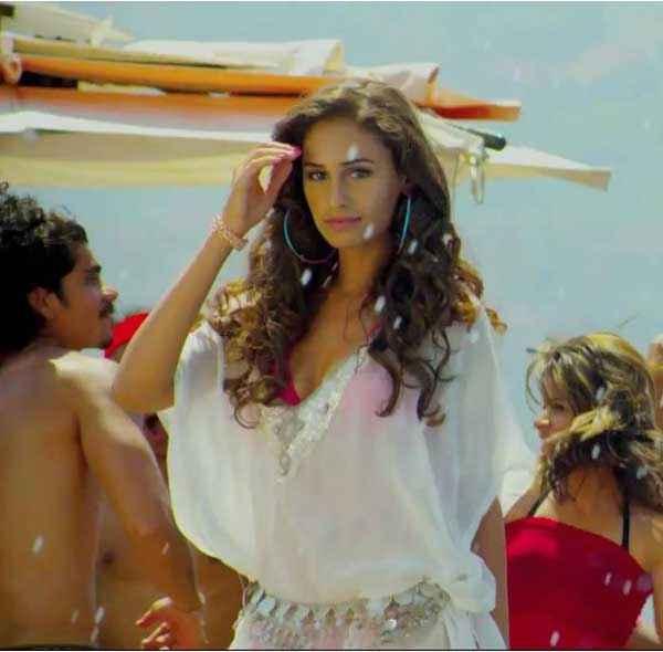 Karle Pyaar Karle Hasleen Kaur Hot White Dress Stills