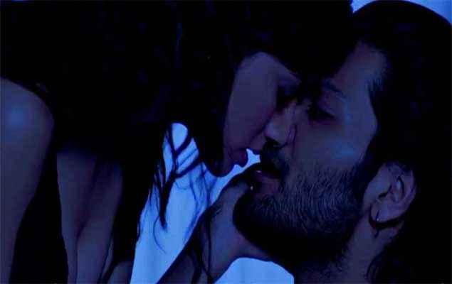 Khamoshiyan Ali Fazal Sapna Pabbi Kissing Image Stills