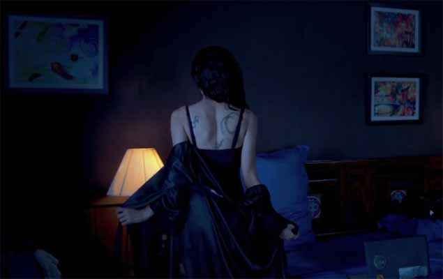 Khamoshiyan Sapna Pabbi Sexy Back Pics Stills