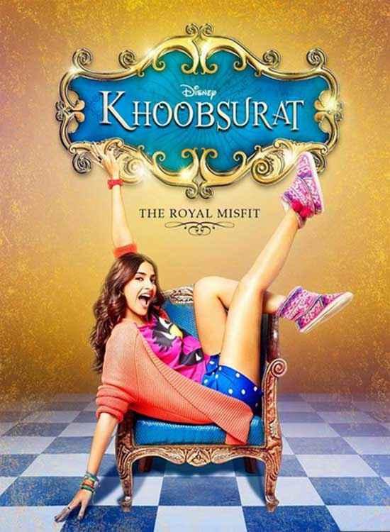 Khoobsurat 2014 Sonam Kapoor Poster
