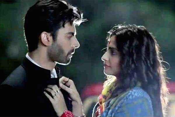 Khoobsurat 2014 Fawad Khan Sonam Kapoor Romantic Pics Stills