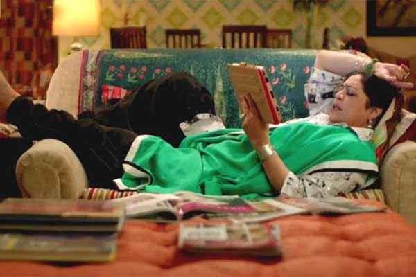 Khoobsurat 2014 Kirron Kher Reading Book Stills