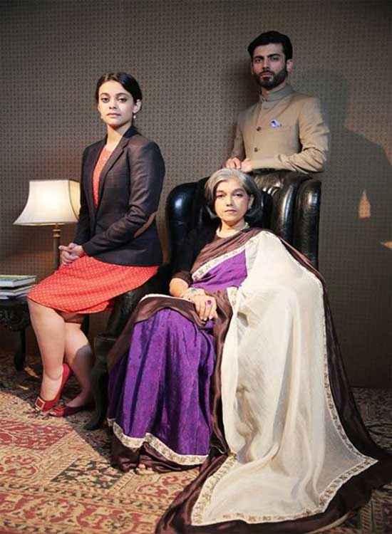 Khoobsurat 2014 Ratna Pathak Fawad Khan Pics Stills