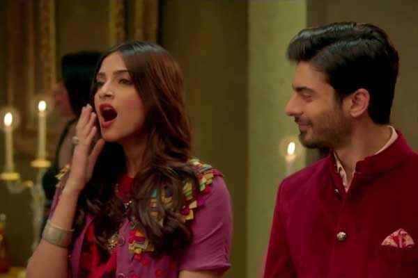 Khoobsurat 2014 Sonam Kapoor Fawad Khan Image Stills